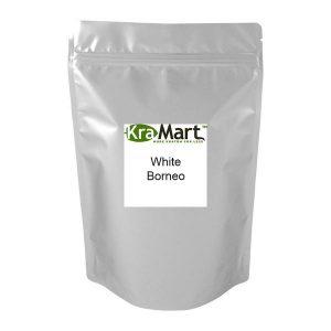 White Borneo Pouch